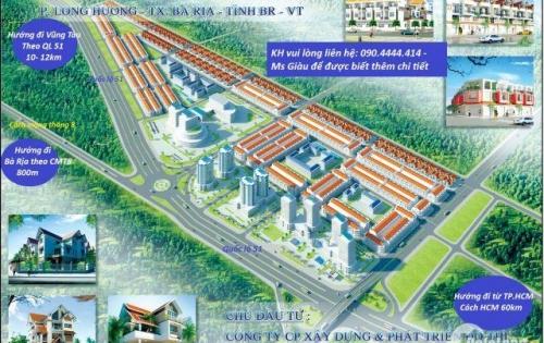 [Hưng Thịnh Corp] Mở bán 400 lô đất nền Bà Rịa mặt tiền Quốc Lộ 51, ưu đãi chiết khấu cho cư dân có hộ khẩu Bà Rịa Vũng Tàu,