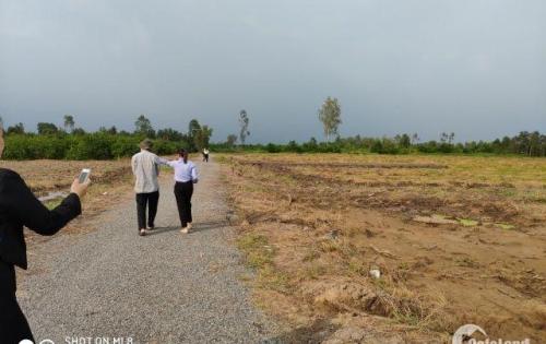 Chính chủ bán đất nền Bến Lức - Long An 500m2/750 triệu, có sổ đỏ riêng