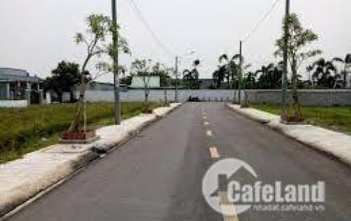 ĐẤT đường nhựa QL 1A- ĐỐI diện KCN Phước Lợi - CHỢ GÒ ĐEN-590 tr/100M2-SHR