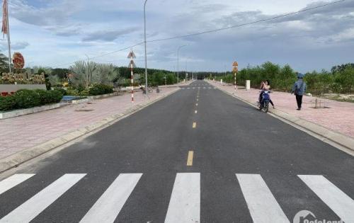 Ngân Hàng thanh lí 4 lô đất Ngay KDC mới gần kề đường 60m đi Sân Bay Quốc tế Long Thành, giá chỉ 500tr/nền.LH 0933451886