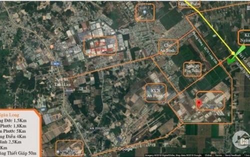 ĐẤT NỀN DỰ ÁN 500tr/nền kề SBay QT Long Thành, Cách MT đường Phùng Hưng 400m, SHR, LH 0933451886