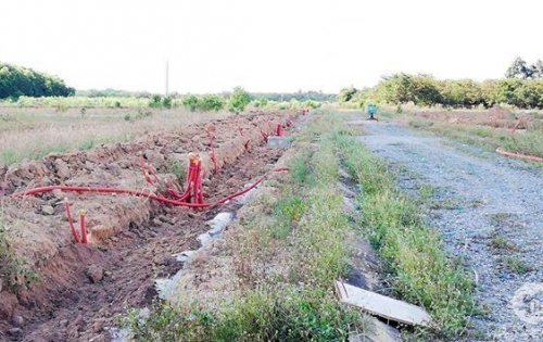 Bán đất Long Thành sổ hồng thổ cư 100% điện nước âm chỉ còn lại 10 nền giá 580Tr/nền LH 093 8877287