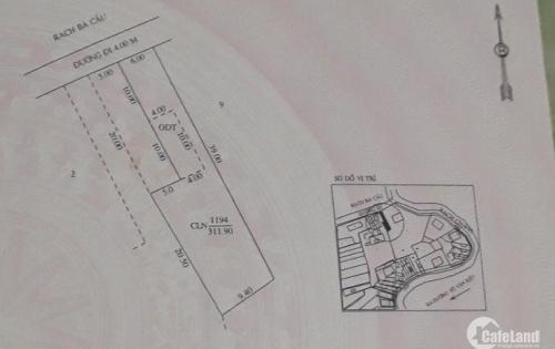 Bán đất nền (thổ cư + vườn) gần sân bay Cần Thơ có tiềm năng