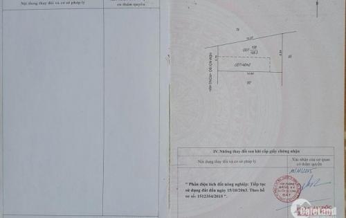 Bán đất thổ cư (5,76x19)m nở hậu 8,84m tại 111/20 Nguyễn Tri Phương, P. Thành Công, Tp. Buôn Ma Thuột, tỉnh Đắk Lắk.