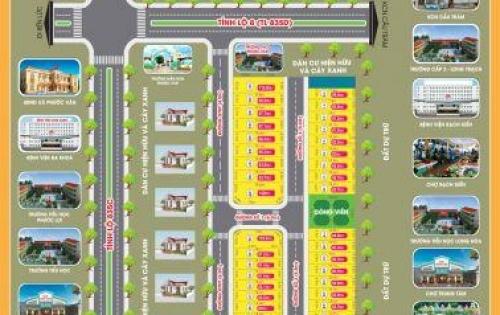 Bán đất nền khu dân cư Phước Vân - ngay chợ Phước Vân 400 triệu/nền, SHR