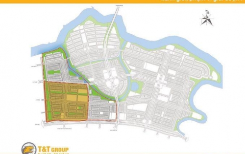 T&T Mellennia 267ha Bắt đầu giữ chỗ nền đẹp Gai Đoạn 1 - phân khu 2  - Trung tâm dự án