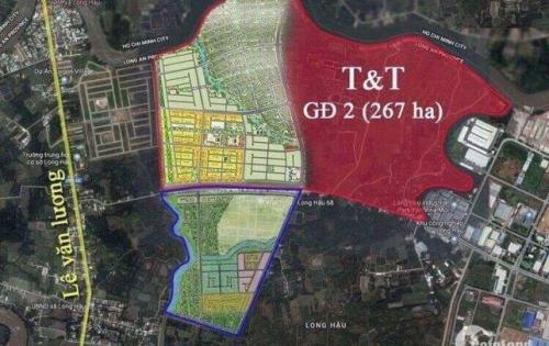 Mở Bán 300 nền Phân khu 2 Dự án T&T 267ha, giá gốc CĐT 11 triệu/m2, cam kết lợi nhuận 50%