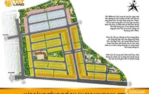 Bán ngay 100 nền vị trí cực đẹp dự án T&T 267ha giá cực sốc 12 triệu/m2, mua ngay hôm nay giá trị ngày mai