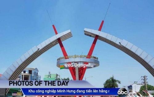 Bán đất mặt tiền ĐT, SHR, TC,Huyện Chơn Thành 130 triệu/240m2