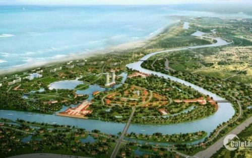 Sở hữu ngay đất nền Biệt thự mặt tiền sông Cổ Cò chỉ từ 100 triệu/lô