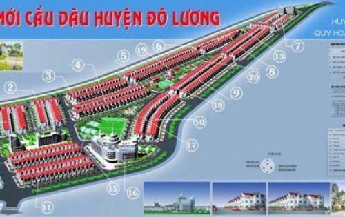 Đầu tư sinh lời 80-90%/năm với đất nền dự án Khu đô thị mới Cầu Dâu, Đô Lương