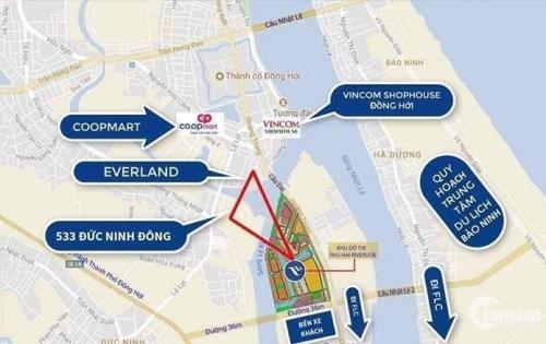 Bán đất nền đầu tư tttp Đồng Hới, Phú hải Riverside
