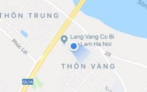 Đất Cổ Bi, huyện Gia Lâm, Hà Nội.