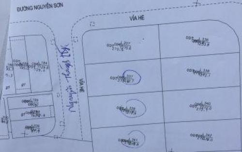 Bán nhanh 3 lô Nguyễn Thành Ý , xây biệt thự siêu đẹp, gần trường quốc tế skyline Giá: 50 Triệu/m2Diện tích: 272 m2Khu vực: Bán đất ở tại Quận Hải Ch