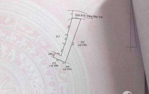Đất đầu kiệt Đặng Huy Trứ - Thành phố Huế 125.7m²
