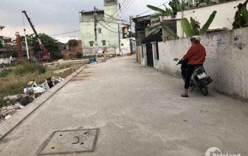 Bán 3 lô đất 4x15m kế trường học, Bình Chánh,dân cư hiện hữu,đường 6m, giá 460tr