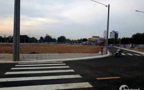 Ngân hàng thanh lí 30 nền đất sau lưng Chợ Bình Chánh 490tr/nền SHR gần trường học.