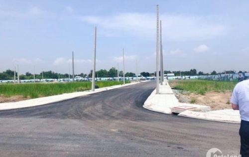 Bán đất KDC mới cách Chợ Bình Chánh 3km 950triệu/nền thổ cư 100%.