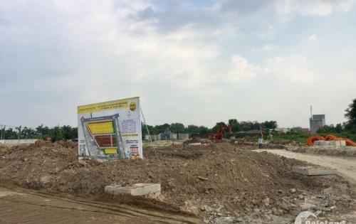 Bán Đất nền Củ Chi, Quóc Lộ 22, gần bệnh viện Xuyên Á, dt 5x18, giá 800tr/nền, SHR, lh 0902445361