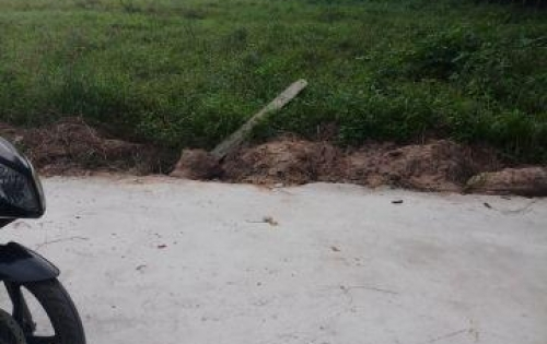 Bán gâp lô  đất gần chợ phước thạnh,củ chi.shr.GPXD