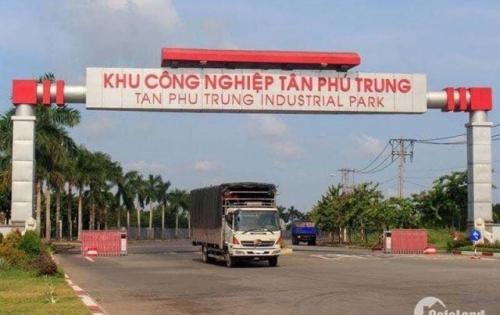 Bán vài lô đất 3 mặt tiền gần KCN Tân Phú Trung, liền kề sân golf Vingroup
