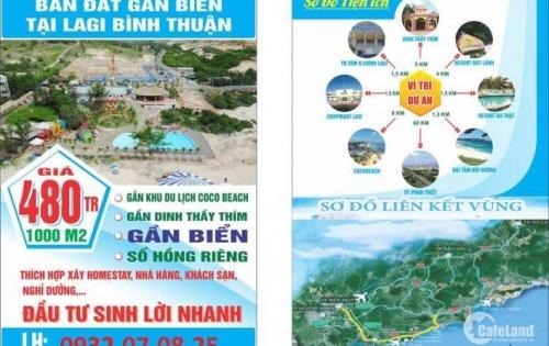 Nhanh tay đón đầu xu hướng đất du lịch biển, đất ven biển MT Hùng Vương, giá chỉ 480 ngàn /m2