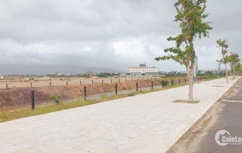 Đất biệt thự Dragon, hai MT, view kênh, công viên, giá quá ok  14tr/m2