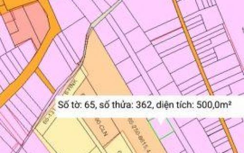 Bán đất sổ đỏ đường vào sân bay Long Thành, 500m2 chỉ 1.7 tỷ.