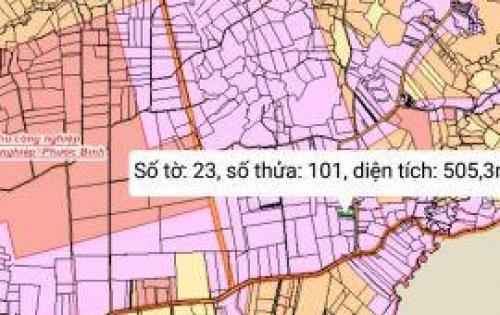 bán đất sân bay long thành dt 5x101m2 thổ cư 100m2 giá 738 tr bao sổ lh : 0989446045