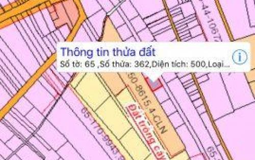 Bán đất sổ đỏ đường vào sân bay Long Thành, 500m2 chỉ 1.7 tỷ. Gọi 0901368085