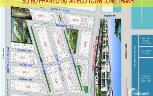 Bán đất trung tâm Long Thành , mặt tiền đường Nguyễn Hải , SHR