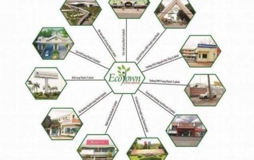 Khu đô thị thương mại ECO TOWN đẳng cấp nhất Long Thành,đầu tư đón đầu 2019