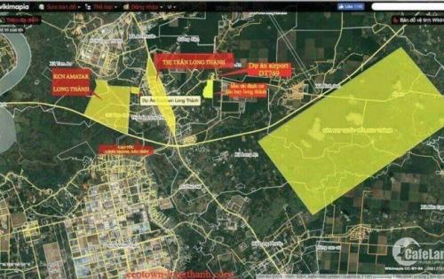 Đất trung tâm thị trấn Long Thành. Dân cư hiện hữu gần ngay VinCom+ sầm uất, giá tốt