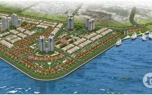 Bán lô đất 80m2 hướng Đông Nam KĐT An Bình Tân Nha Trang, khu vực nhà cửa xây dựng nhiều.