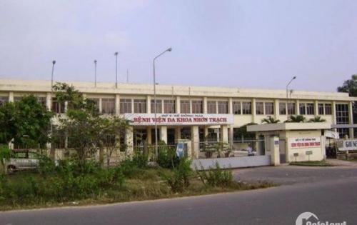 Đất trung tâm huyện Nhơn Trạch, cách bệnh viện Nhơn Trạch 200m