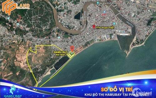 Sở hữu ngay đất mặt tiền biển Hamubay Phan Thiết chỉ từ 15 triệu/m2