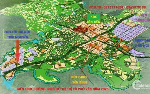 Bán đất nền gần KCN SamSung, Chỉ 680 triệu/ 100m2