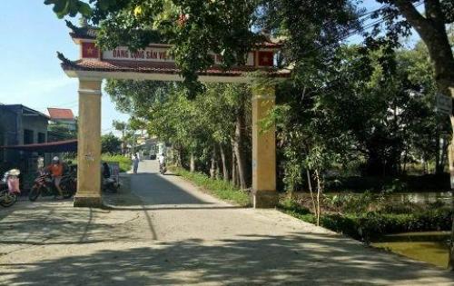 Chính chủ cần bán nhanh lô đất nền khu quy hoạch Phú Thượng Phú Vang