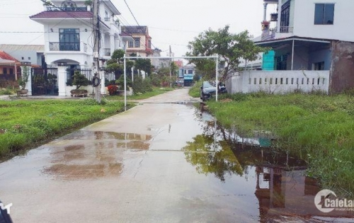 Bán nhanh lô đất 2 mặt tiền Cồn Trống – Lại Thế - Phú Thượng – Phú Vang - Tp Huế