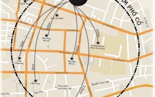 Bán đất mặt tiền Lý Nam Đế - Trung Tâm Hội An- Khu vực: Bán đất nền dự án tại Time Hội An - Thành phố Hội An - Quảng Nam Giá: 8.5 tỷ  Diện tích: 200m²