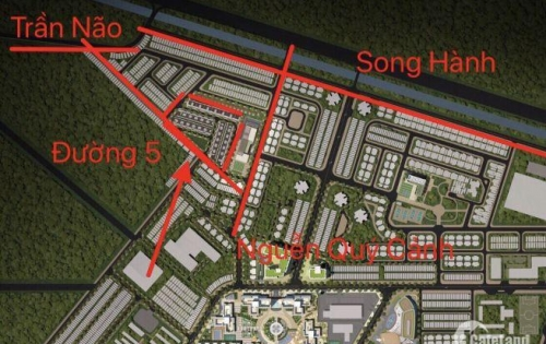 Bán Đất Nền An Phú An Khánh Q2, sổ hồng riêng giá chỉ 130tr/m2. LH:0943328652 gặp Thoại.