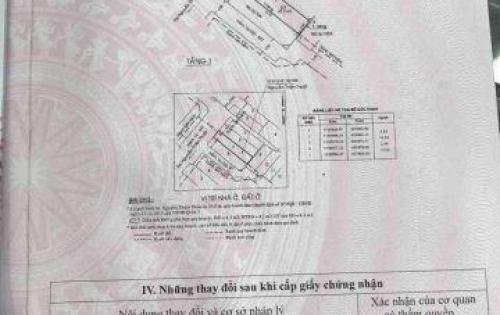 Đất quận 3, đất chính chủ, bán đất tặng luôn nhà tại đường Nguyễn Thiện Thuật