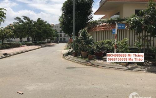 Bán gấp lô D diện tích 7.5m x 20m nằm ngay trục đường D1 KDC Him Lam, giá rẻ nhất thị trường