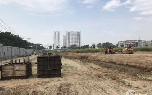 Đất nền 2 mặt tiền chợ Bình Điền - SHR - thổ cư 100% - bao sang tên & móng cọc