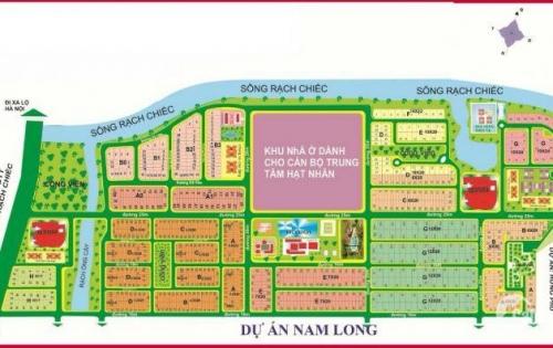 Bán lô đất Nam Long , Phước Long B , quận 9 gần đường Liên Phường 240m2 giá 41 tr/m2 LH 0919 823 007
