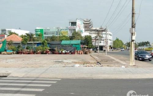 Bán NHANH đất thổ cư mặt tiền Hùng Vương, tt tp Tân an, 240m2