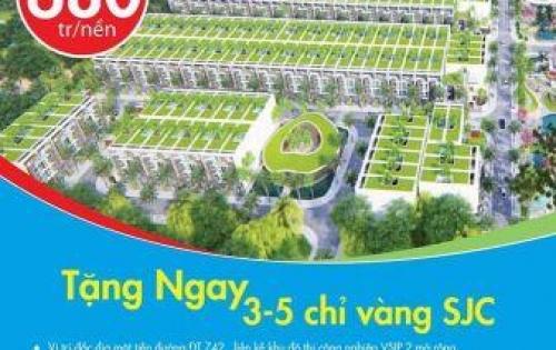 Bán đất ngay chợ Vĩnh Tân. Gần ngay KCN VSIP II.