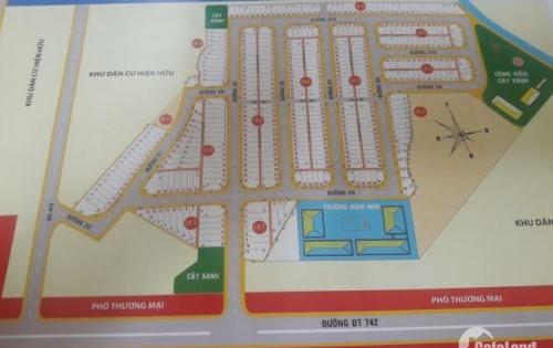 Đất Khu Dân Cư Vĩnh Tân mặt tiền DT 742 ngay KCN VSIP II mở rộng