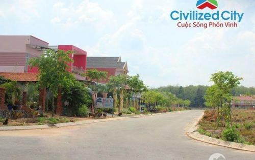 đất ngay KCN Visip 2 diện tích lớn làm nhà hàng, nhà trọ