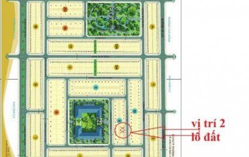 Bán 2 lô đất liền kề thuộc dự án Gold Hill thị trấn Trảng Bom